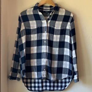 Comfy Madewell flannel shirt